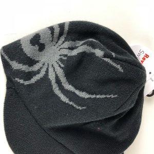 484fb31bf0a Spyder Accessories - Spyder Men s Vradar Reversible Knit Hat w Brim NWT